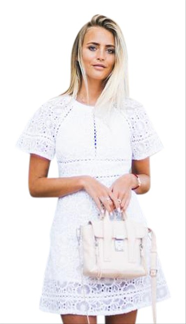 Preload https://item5.tradesy.com/images/white-floral-cut-out-short-cocktail-dress-size-8-m-21569664-0-1.jpg?width=400&height=650