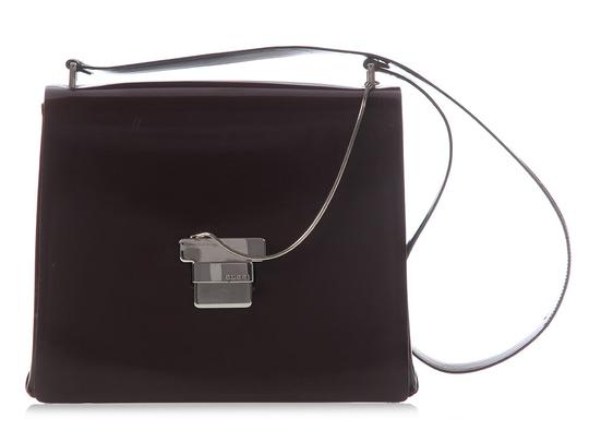 Preload https://item1.tradesy.com/images/gucci-flap-brown-patent-leather-shoulder-bag-21569735-0-0.jpg?width=440&height=440