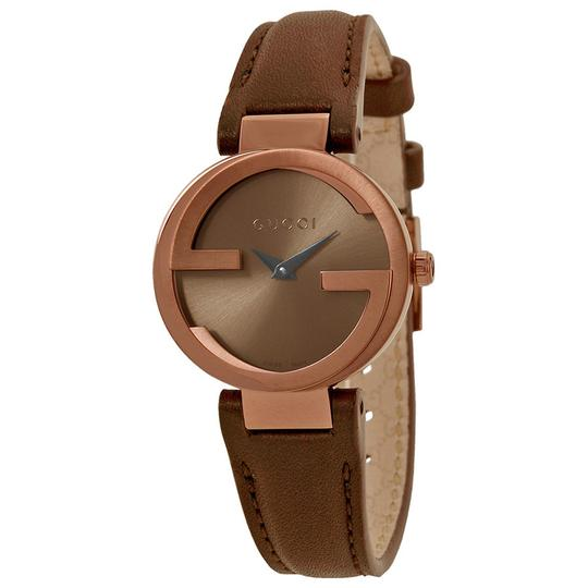 Preload https://item3.tradesy.com/images/gucci-brown-interlocking-g-small-dial-ladies-swiss-watch-21569777-0-0.jpg?width=440&height=440