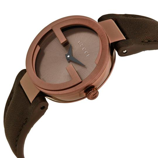 Gucci Gucci Interlocking G Small Brown Dial Authentic Ladies Swiss Watch