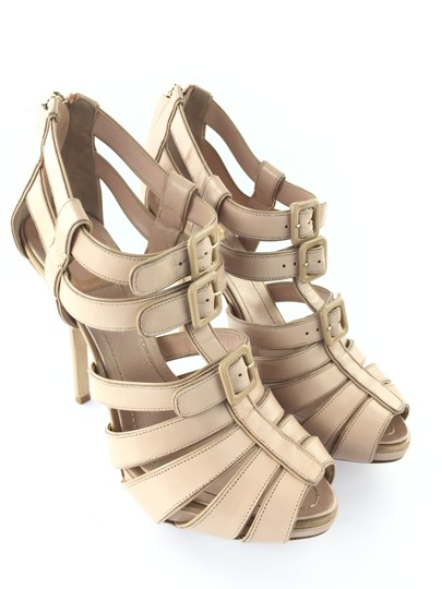 Dior Leather Strappy Eur 38 Nude Sandals