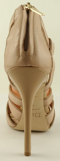 Dior Leather Strappy Eur 38.5 Nude Tan Sandals