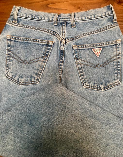 Guess Distressed Vintage Button Fly Relaxed Fit Jeans-Medium Wash