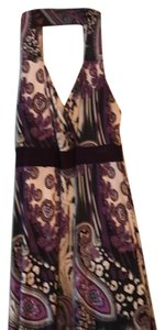 black/purple/multi Maxi Dress by Igigi