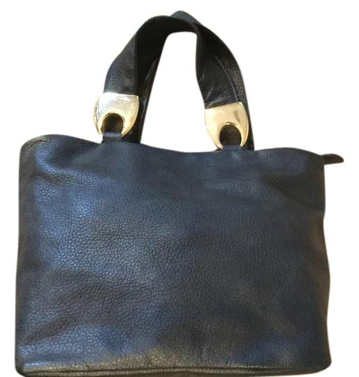 Preload https://item4.tradesy.com/images/signed-florence-italy-pebbled-ha-black-leather-satchel-21570073-0-1.jpg?width=440&height=440