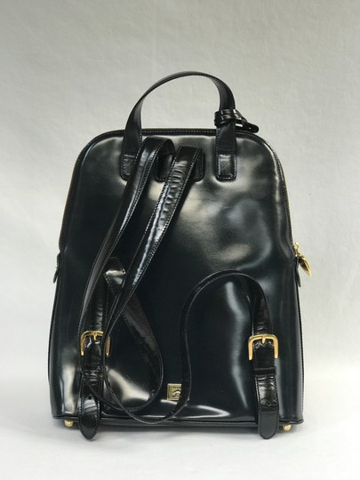 Moschino Leather Travel Backpack
