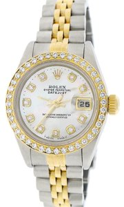 Rolex Rolex Datejust Ladies 2-Tone 26mm Jubilee 79173 w/Diamond Dial & Bezel