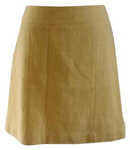 H&M Skirt Yellow
