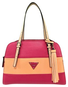 Guess Satchel in Pink multi