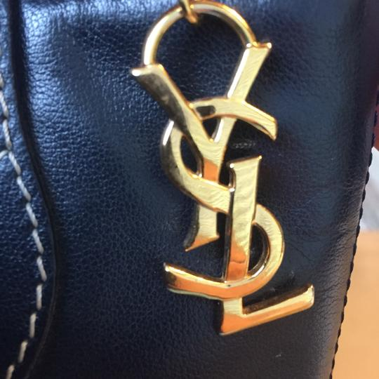 Saint Laurent Ysl Vintage Y Cutouts Shoulder Bag