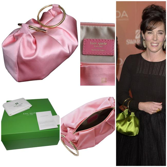 Item - New She Carried This To The Met Gala Pink Satin Wristlet