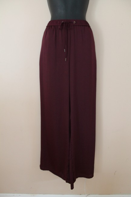 H&M Wide Leg Pants Red