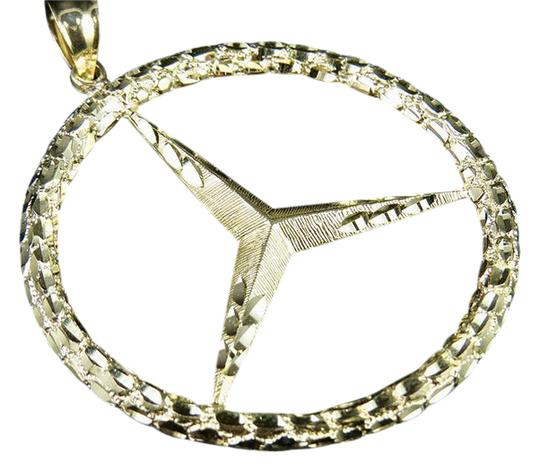 Preload https://item1.tradesy.com/images/10k-yellow-gold-men-s-mercedes-nugget-logo-pendant-2-charm-21570915-0-4.jpg?width=440&height=440