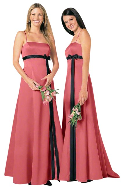 Preload https://item5.tradesy.com/images/alfred-angelo-pink-black-6133-long-formal-dress-size-12-l-21570979-0-1.jpg?width=400&height=650