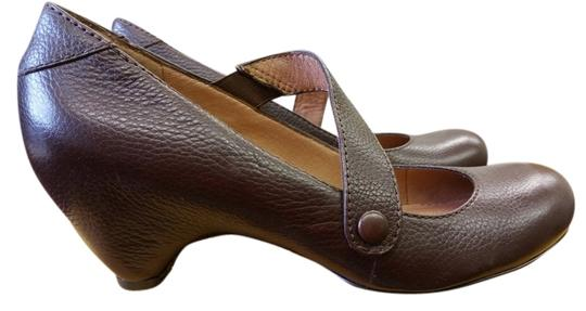 Ciao Bella brown Wedges Image 0