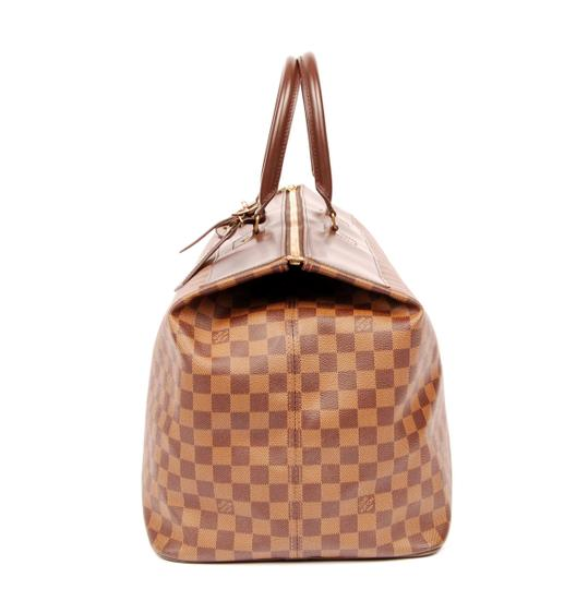 Louis Vuitton Greenwich Damier Canvas Canvas Luggage Vintage Brown 4768 Travel Bag