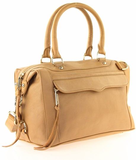 Rebecca Minkoff Leather Classic Satchel in Brown Image 1