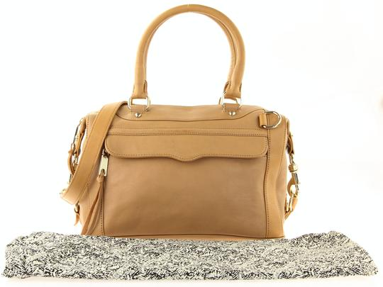 Rebecca Minkoff Leather Classic Satchel in Brown Image 11