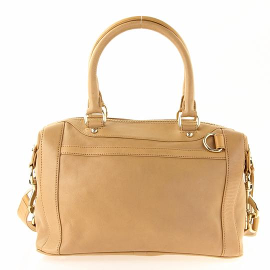 Rebecca Minkoff Leather Classic Satchel in Brown Image 2