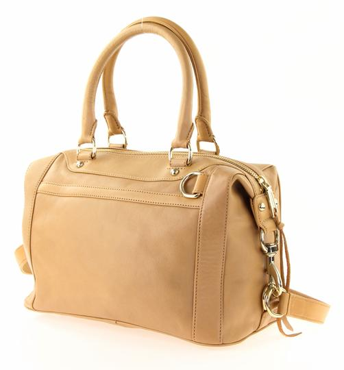Rebecca Minkoff Leather Classic Satchel in Brown Image 3