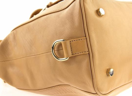 Rebecca Minkoff Leather Classic Satchel in Brown Image 7