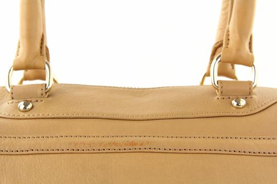 Rebecca Minkoff Leather Classic Satchel in Brown