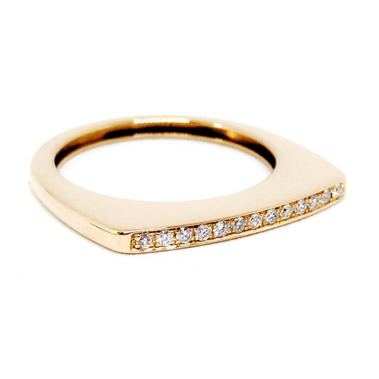 FRED FRED 18K Rose Gold and Diamond Mini Success Ring