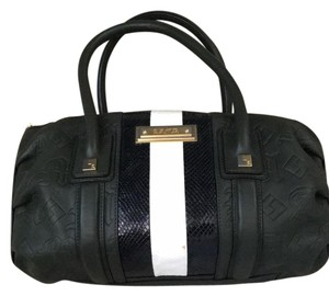 L.A.M.B. Satchel in Green/Black