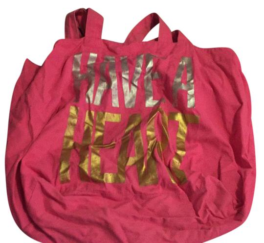 Preload https://item4.tradesy.com/images/pink-tore-beach-bag-21571353-0-1.jpg?width=440&height=440