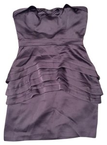 BCBGMAXAZRIA short dress Grey on Tradesy