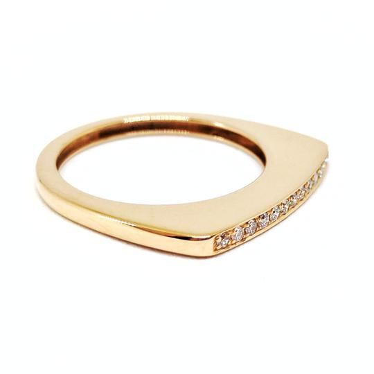 FRED 18K Rose Gold Mini Success Ring with Diamonds