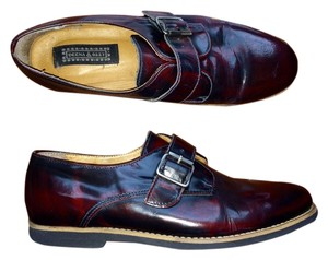 Deena & Ozzy Vintage Oxford Boyfriend Oxblood Red Flats