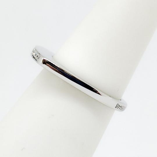 FRED 18K White Gold Mini Success Ring With Diamonds!