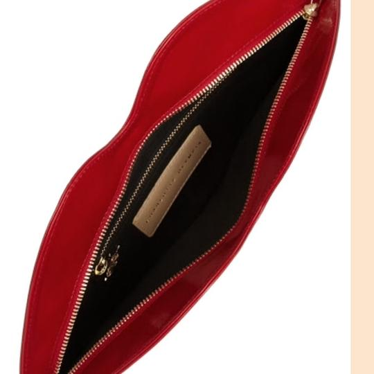 Charlotte Olympia Red Big Kiss Clutch Clutch