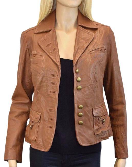 Preload https://item2.tradesy.com/images/apriori-cameltan-tancamel-lamb-leather-button-up-mk-jacket-size-6-s-21571606-0-1.jpg?width=400&height=650