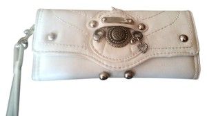 Juicy Couture Juicy Couture White Leather Wallet