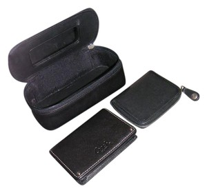Coach cosmetic case /Jewelry Travel Case+small wallet+coin case