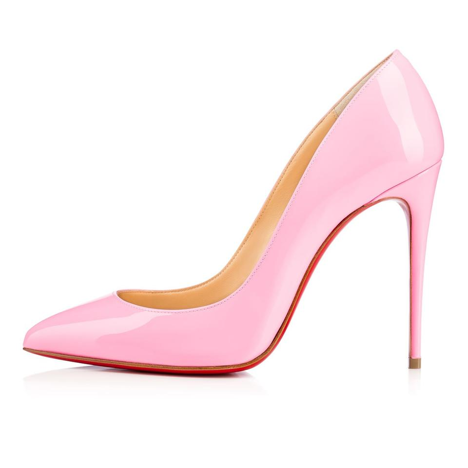 b49d0f17250 Christian Louboutin Dolly Pink Pigalle Follies 36.5 Patent Leather 100  Pumps Size US 6.5 Regular (M, B) 6% off retail