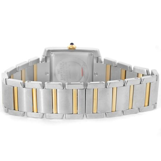 Cartier Cartier Tank Francaise Large Steel Yellow Gold Unisex Watch W51005Q4