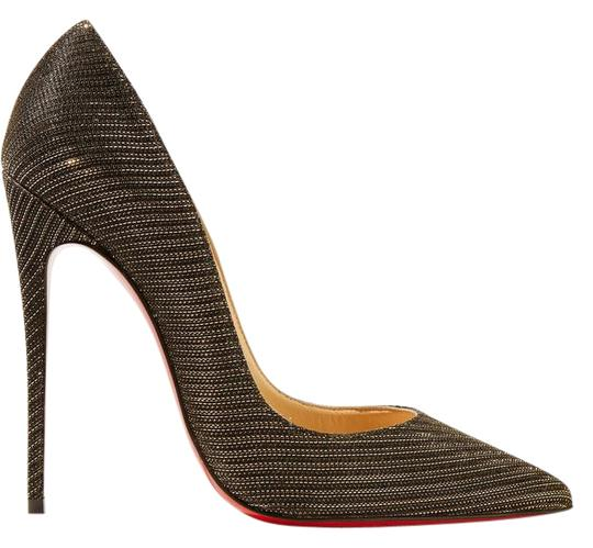 Preload https://item1.tradesy.com/images/christian-louboutin-black-gold-so-kate-120mm-glitter-pumps-size-us-6-regular-m-b-21571940-0-1.jpg?width=440&height=440