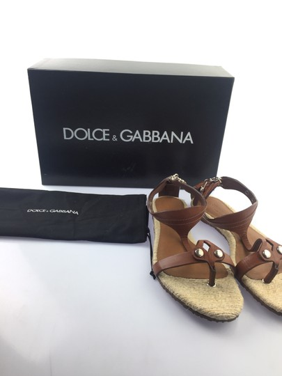 Dolce&Gabbana Brown Flats