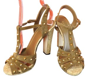 9758a72c9 Gucci Wangy Jeweled Leather Sandals Size EU 37.5 (Approx. US 7.5 ...