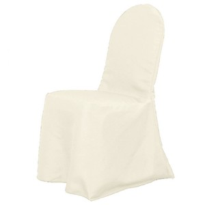 Polyester Banquet Chair Cover Ivory- Set Of 50