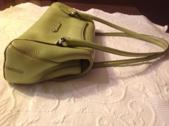 Cole Haan Pebbled Leather Baguette Shoulder Bag