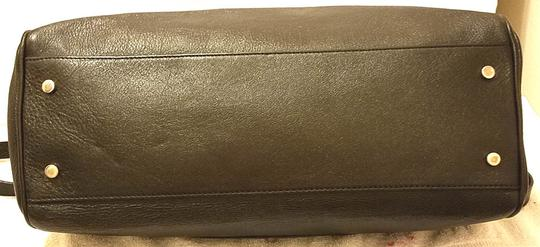 H&M Leather Lined Black Messenger Bag