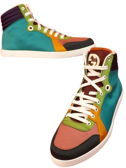 Preload https://item1.tradesy.com/images/gucci-multi-color-mens-satin-interlockin-limited-sneakers-115-125-343094-shoes-21572195-0-4.jpg?width=440&height=440
