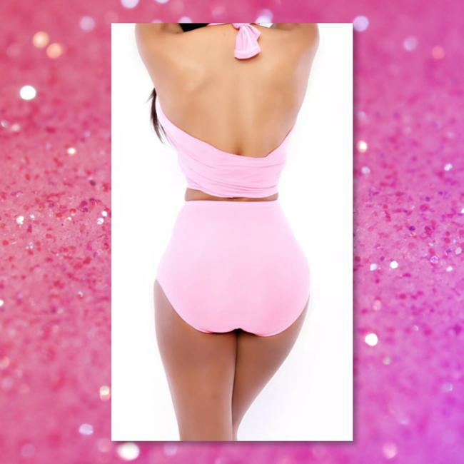 Other New Pink Wrap 2pc Swimsuit Bikini
