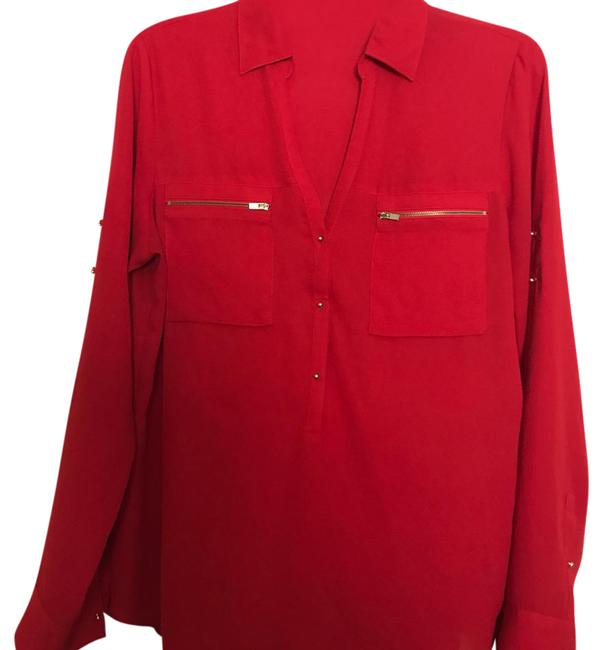 Preload https://item4.tradesy.com/images/express-red-blouse-size-8-m-21572358-0-1.jpg?width=400&height=650