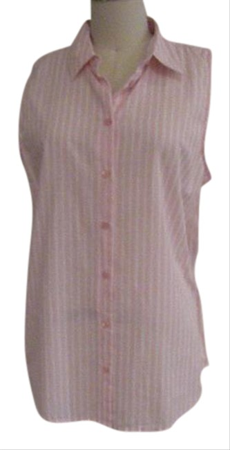 Preload https://item1.tradesy.com/images/equipment-pink-sleveless-button-down-top-size-4-s-21572480-0-1.jpg?width=400&height=650