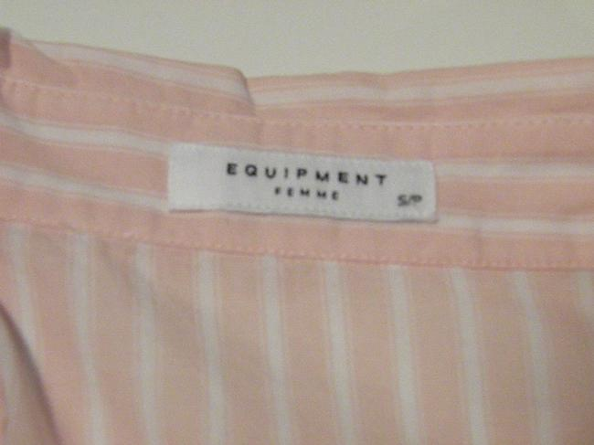 Equipment Button Down Shirt Pink